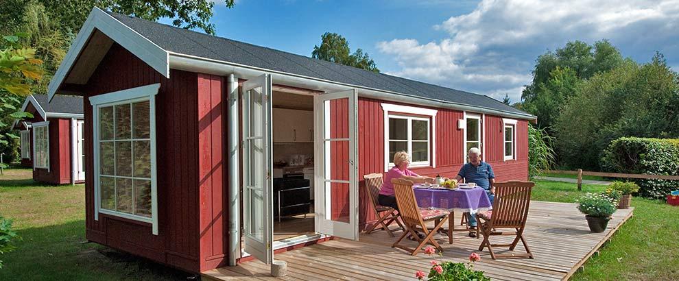freizeitwelt g ster tiny house 35m. Black Bedroom Furniture Sets. Home Design Ideas